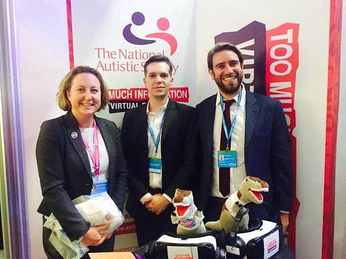 AMT meets National Auistic Society team at CPC2016 | by annietrev2010