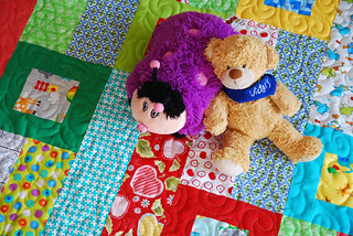 Baby Crawl Blanket and a Few Friends