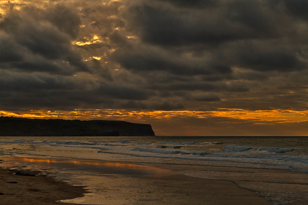 Sunset, Whitby