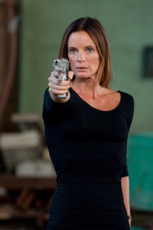 Gabrielle Anwar Sexy With Pistol A Photo On Flickriver