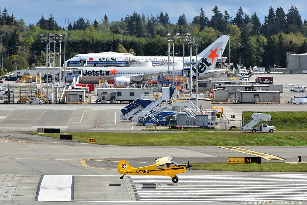 Boeing Everett Delivery Center | akbarber | Flickr