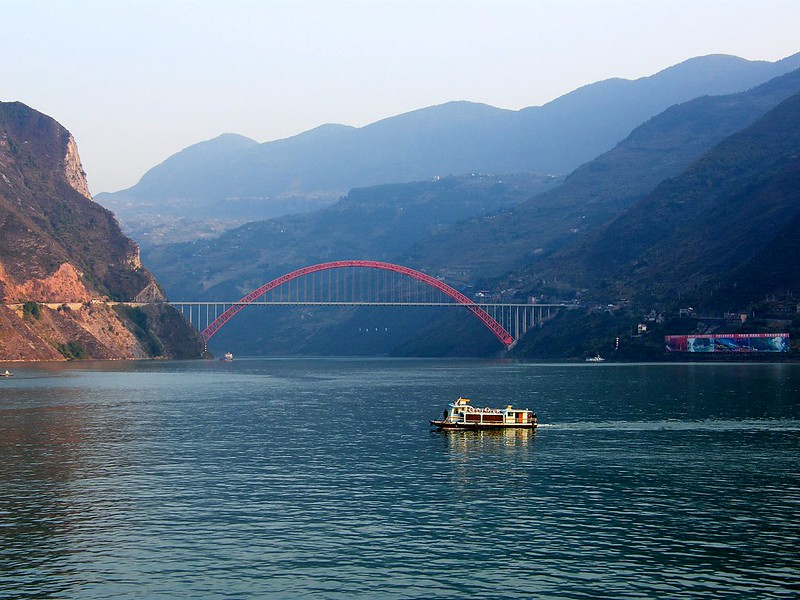 Cruising Down the Yangtze River