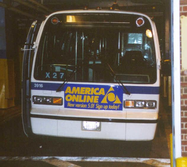 New York City Transit GMC RTS 3916