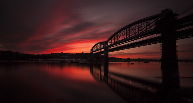 Red Sky at Night..