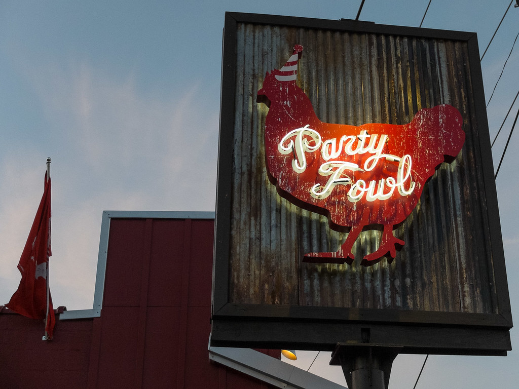 Party Fowl The Gulch Nashville Tn Restaurant In The Gulch