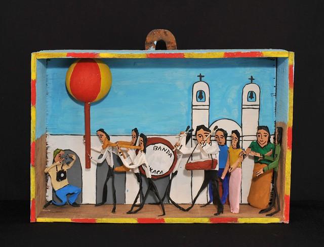 Guelaguetza Parade Oaxaca Mexico