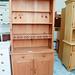 Tall natural pine dresser