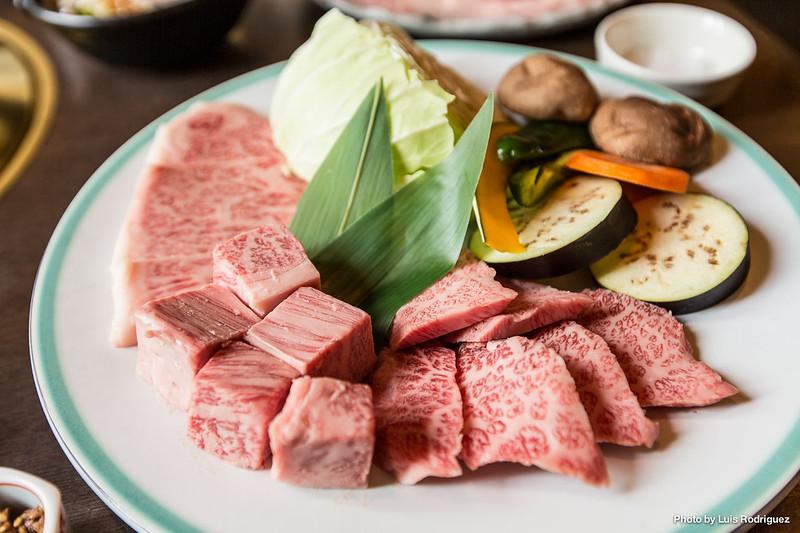 Carne de Maruaki, en Takayama, apta para celíacos