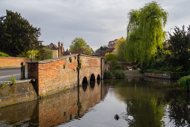 Bridge over the River Ver, St.Michael's Street, St.Albans