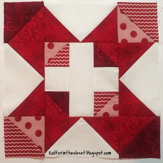Autumn Chain block for Jennifer in Bee Hive Joy | by Newbie Jen
