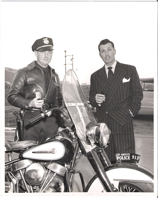 Los Angeles Police Motorcycle