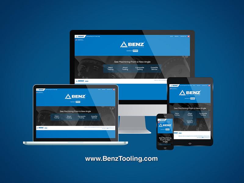 Responsive Website Design / Benz Inc.