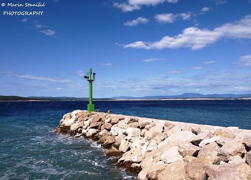 crikvenica croatia lighthouse adriaticsea