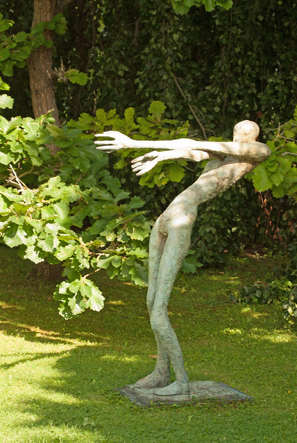 Sculpture, Jena Botanical Garden