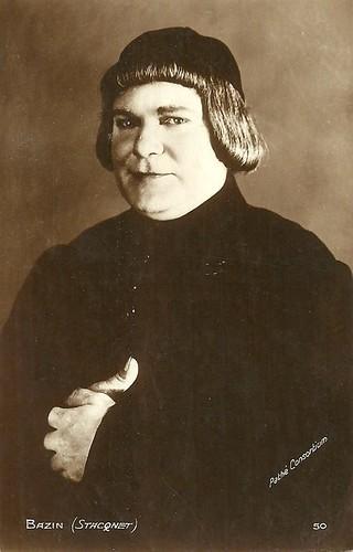 Antoine Stacquet as Bazin in Les trois mousquetaires