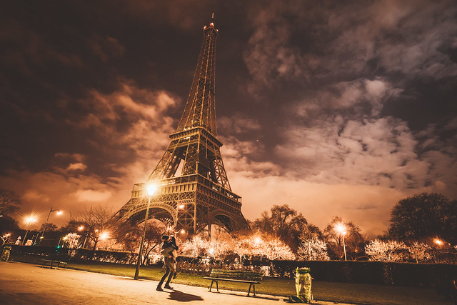 Paris atmosphere at it best