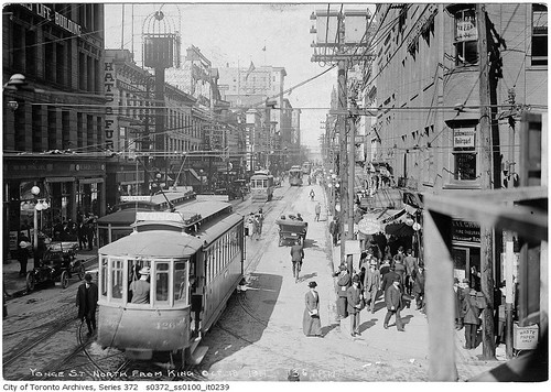 Yonge Street, looking north from King Street | by Toronto History