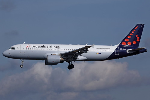 OO-SNJ 180402 A320 N3161 BEL HAM IMG_92828 | by aircraftstalker