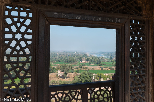 View Through The Jahangir Mahal Window