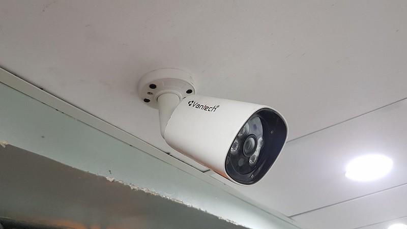 Lắp đặt camera cửa hàng