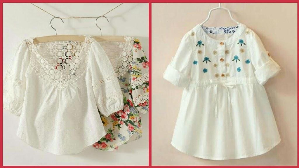 7f9191d4493 ... Latest Baby Summer Dress Designs 2018 - Classy   Beautiful kids Wear
