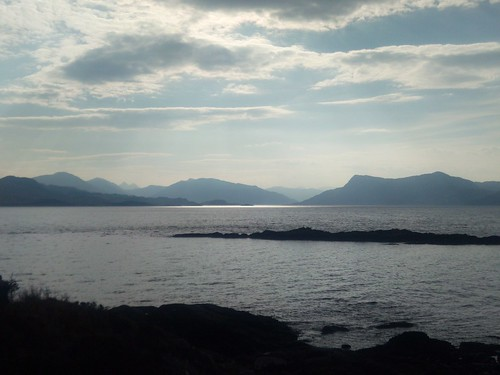 View to Knoydart from Rubha Phoil | by Earth Ways