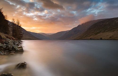 sunrise sun loch reservoir tallareservoir longexposure tweedsmuir borders scottishborders scotland nikond7200 tokina1116mm