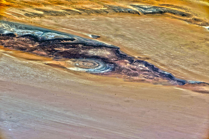 Oblique Richat Structure, variant