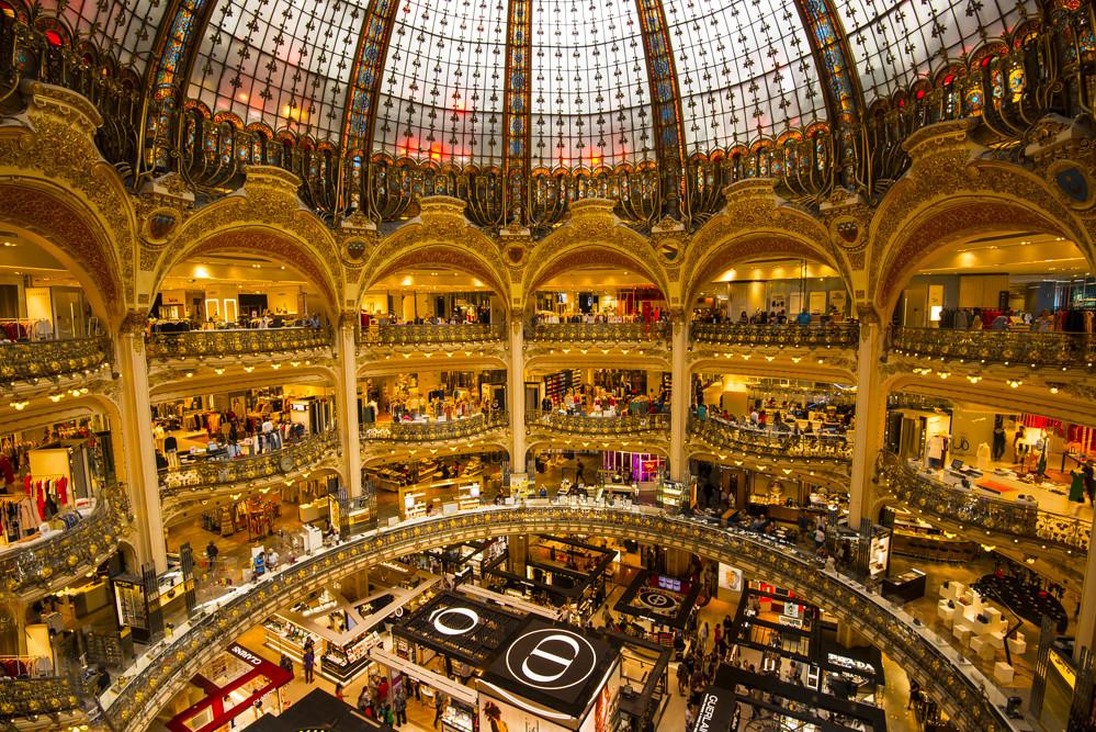 Kết quả hình ảnh cho Galeries Lafayette Haussmann
