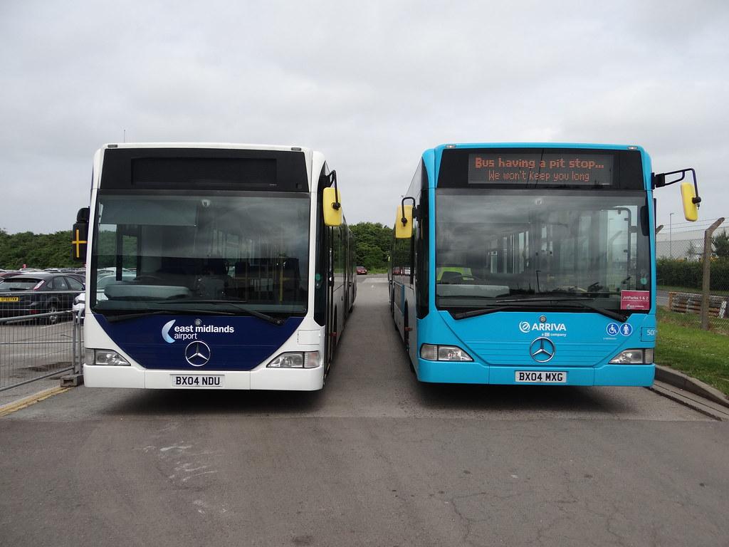 Arriva Midlands [EMA] - (5006 & 5001: Mercedes Citaro G, O