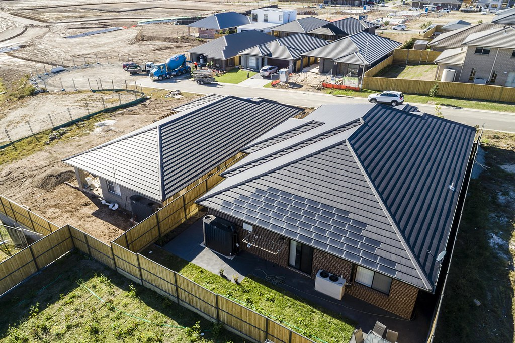 Bristile Solar Roof Tiles - Mirvac Project, Gledswood NSW (2)