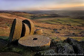 Stannage millstones