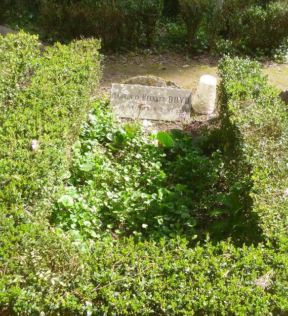 Martin Boyd's grave (Australian Novelist)