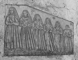 six daughters of Benjamin and Elizabeth Brand