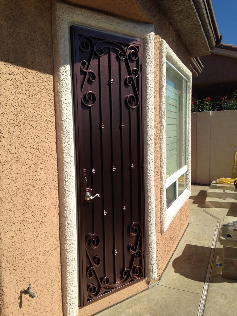 Custom Security Doors Ar Iron Works And Fencing