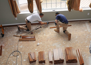 Installing a Hardwood Floor - Construction | by hnnbz