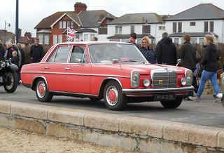 1972 Mercedes 220 | by Spottedlaurel