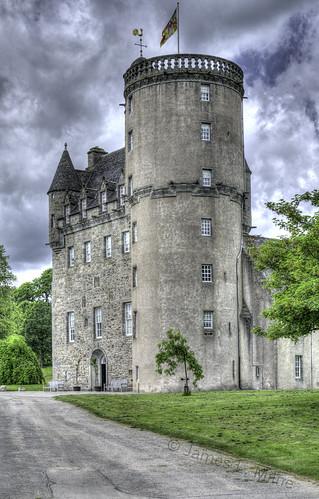 architecture scotland nikon aberdeenshire hdr photomatix castlefraser d7000