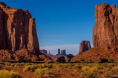 Navajo Nation's Monument Valley Park, North Window, AZ.