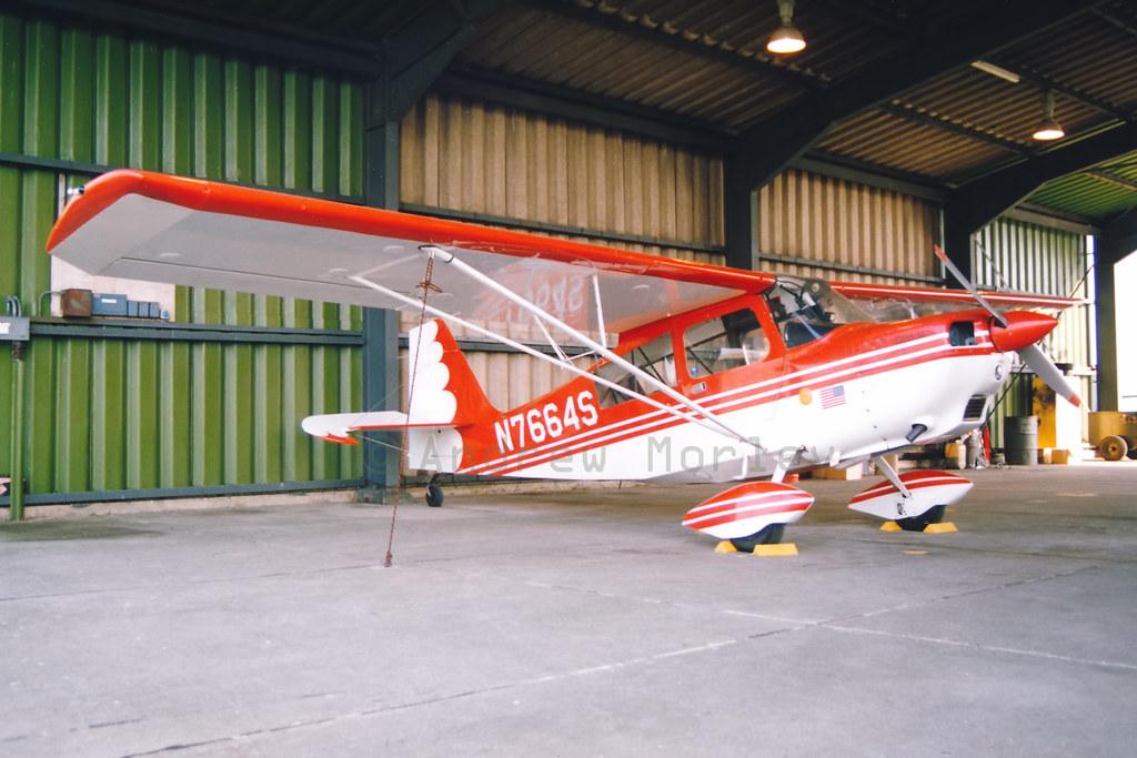 USAF Upper Heyford Aero Club Citabria in 1991.