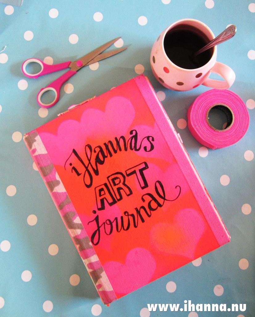 My altered book / art journal