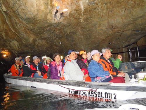 圖08參觀布爾諾鐘乳石洞
