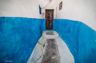narrow dead-end laneway in Kasbah des Oudiyas - Morocco | by Phil Marion (176 million views - THANKS)