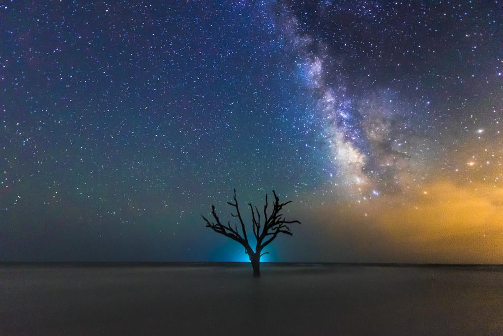Edisto Island Milky Way