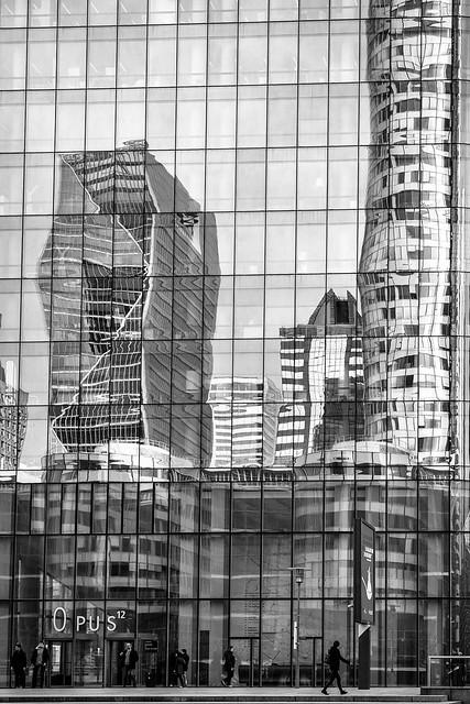 Office Block Reflection