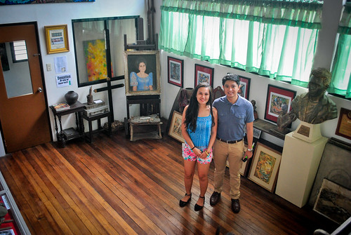 Janna and Nikko Inside the Botong Francisco House | by couplemeetsworld