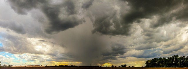 051715 - Afternoon Nebraska Thunderstorm (Pano)
