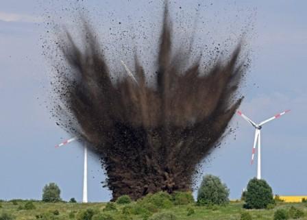 bomba detonada en Bremen
