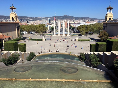 Barcelona - View from Montjuic's Castle | by elsua