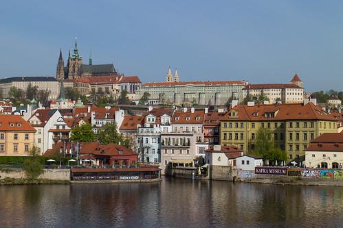 Prahan linna sillalta